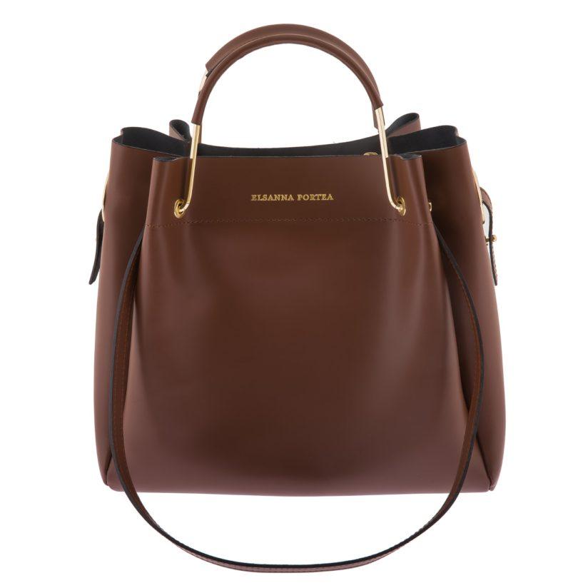 Shopper-Tasche mit Metallhenkel von Elsanna Portea