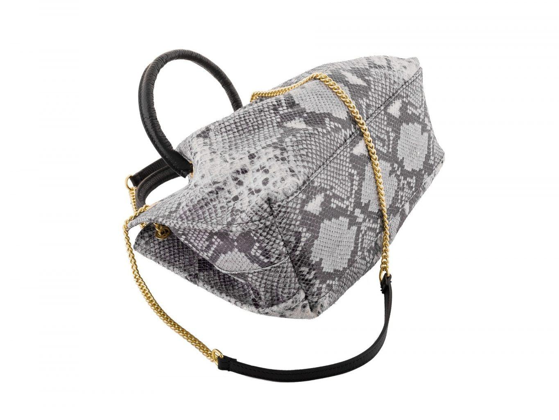 Shoulder Bag with Snake Design by Elsanna Portea