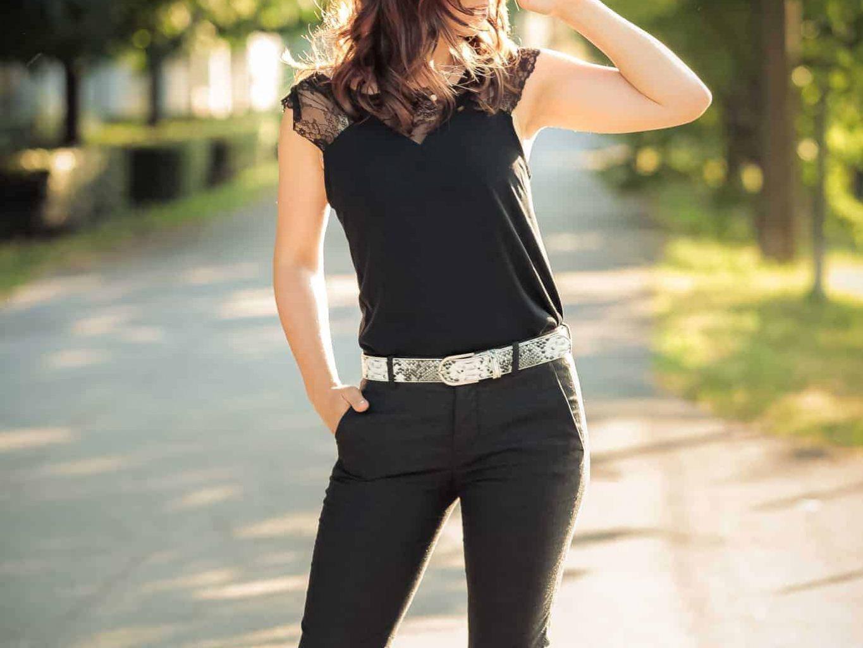 Women's Belt with Snake Design by Elsanna Portea